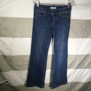 White House Black Market Dark Denim Bootcut Jeans